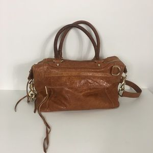 Rebecca Minkoff Tan Leather MAB Satchel Purse